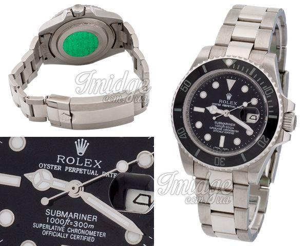 Мужские часы Rolex  №MX1213 (референс оригинала 116610LN)