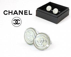 Запонки Chanel  №279