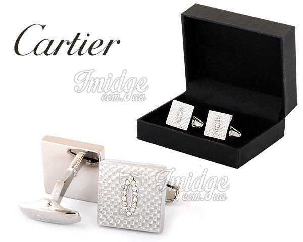 Запонки Cartier  №432