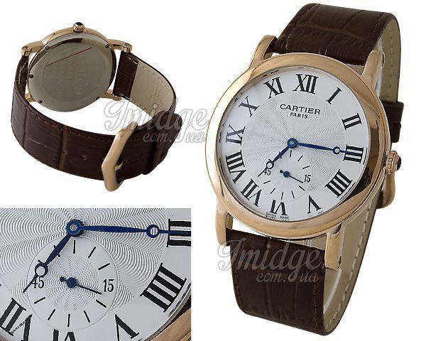 Мужские часы Cartier  №S160