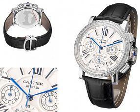 Женские часы Cartier  №MX3601