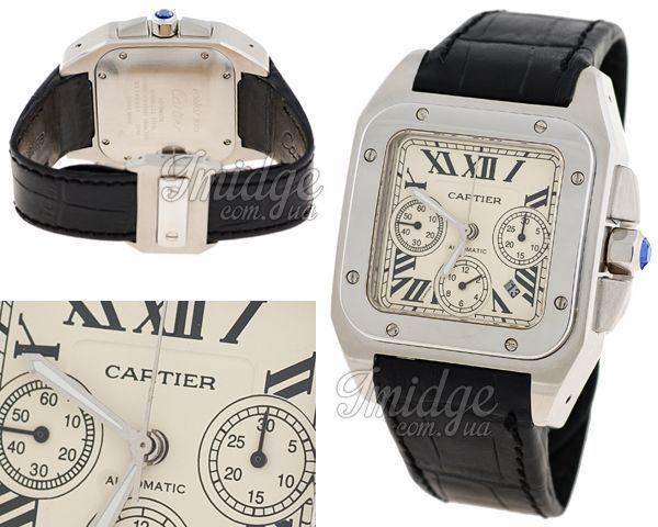 Мужские часы Cartier  №M3719