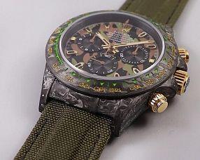 Мужские часы Rolex  №MX3633 (Carbon Military Green)