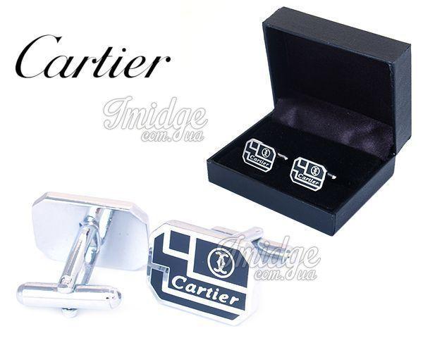 Запонки Cartier  №462