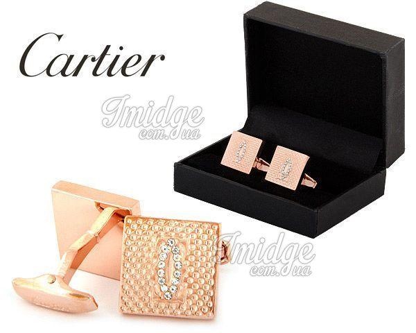 Запонки Cartier  №434