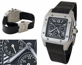 Мужские часы Cartier  №C0201