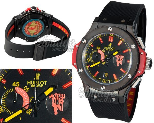 Мужские часы Hublot  №M4377