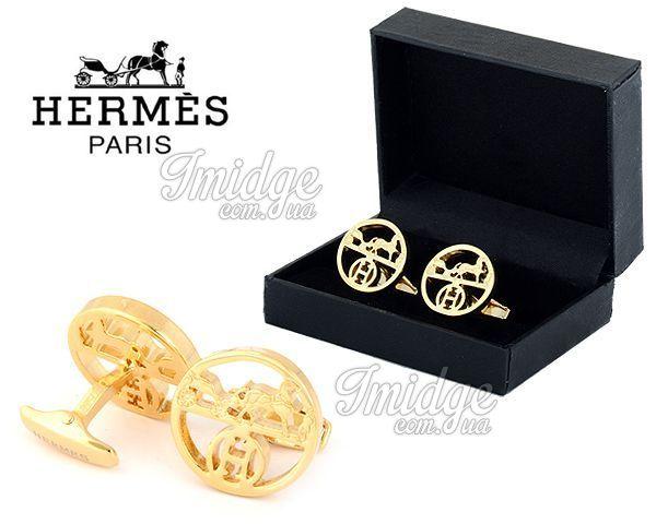 Запонки Hermes  №441