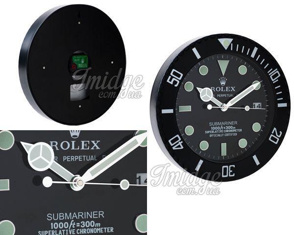 Настенные часы Rolex  №WC002