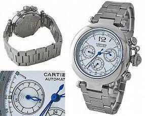 Мужские часы Cartier  №C0189
