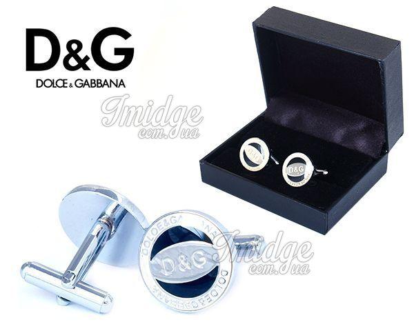 Запонки Dolce & Gabbana  №461