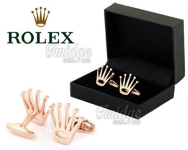 Запонки Rolex  №397