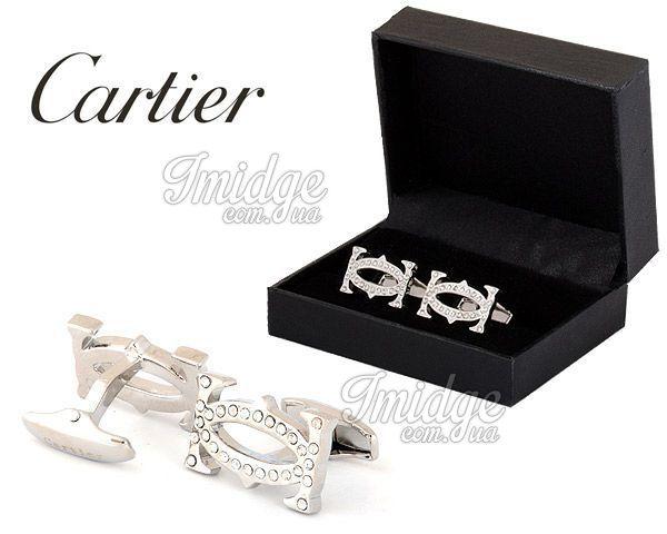Запонки Cartier  №436