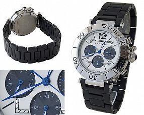 Мужские часы Cartier  №H0635