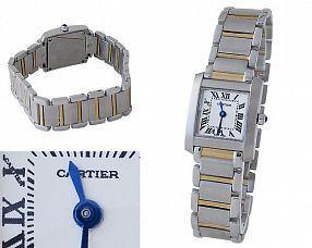 Женские часы Cartier  №C0092
