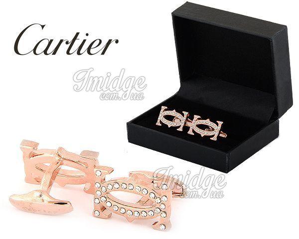 Запонки Cartier  №438