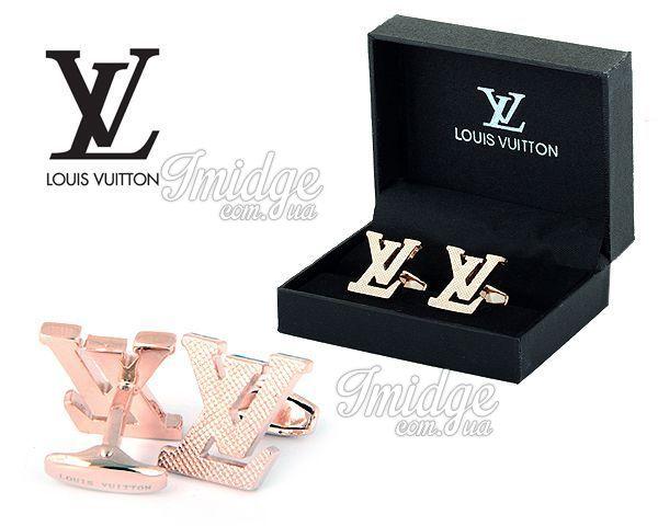 Запонки Louis Vuitton  №417
