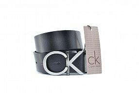 Ремень  Calvin Klein Real хром Leather №B0216